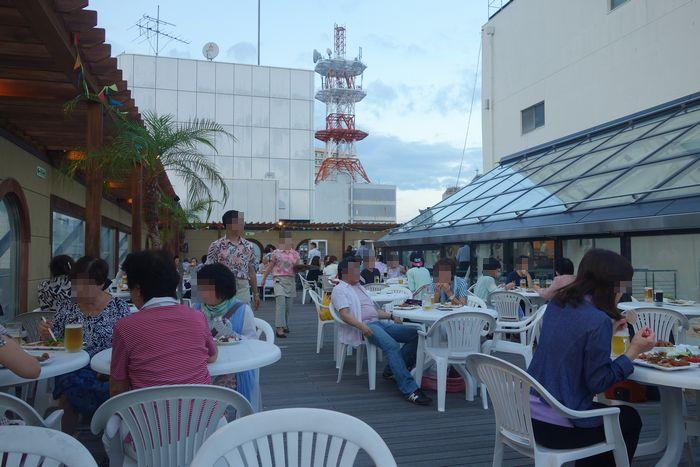 中島屋ビアガーデン2