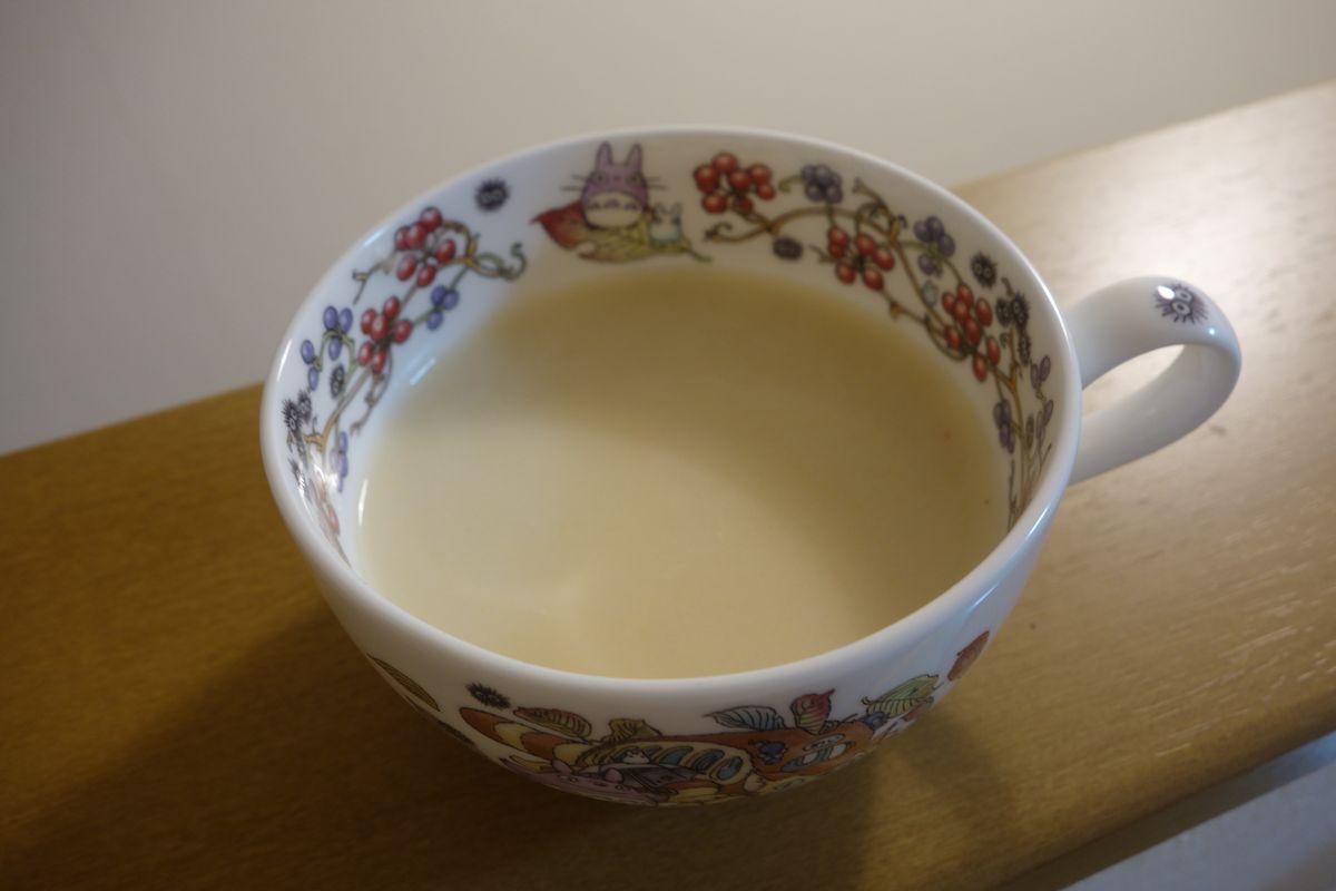 桃のスープ