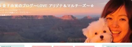 ☆金子由実のブログ〜LOVE アリゾナ&マルチーズ〜☆
