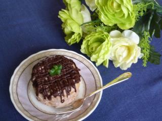 チョコ・クッキーサンドケーキ