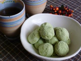 抹茶ボール