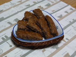 キャラメルごぼうのソフトクッキー