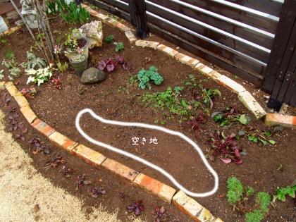 花壇レイアウト 空き地