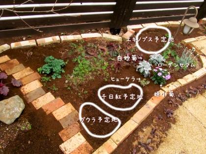 花壇レイアウト