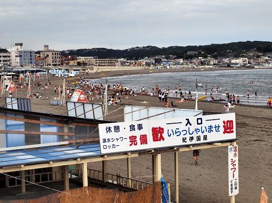 海水浴場20140830