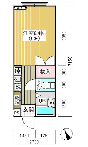 リバーサイド須山103間取り(マイソク用)