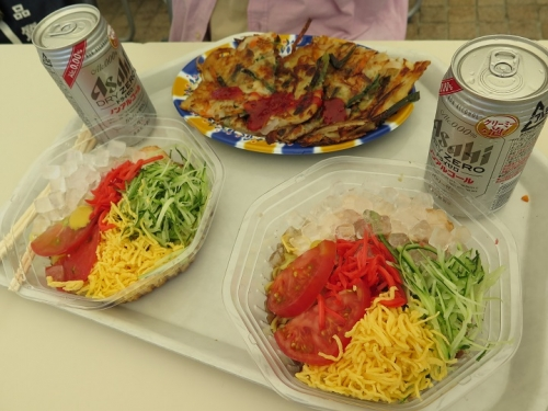 浜名湖花博2014 チヂミと冷麺