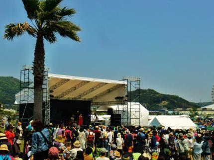 2014・森道市場 砂浜ステージ