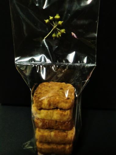 植物展・nokos7 ごぼうと木の実のクッキー