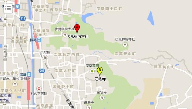 伏見map