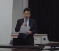 質問に答える松本先生