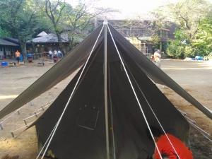 テント設営2
