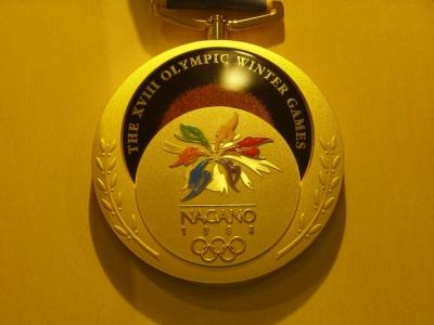 長野五輪金メダル