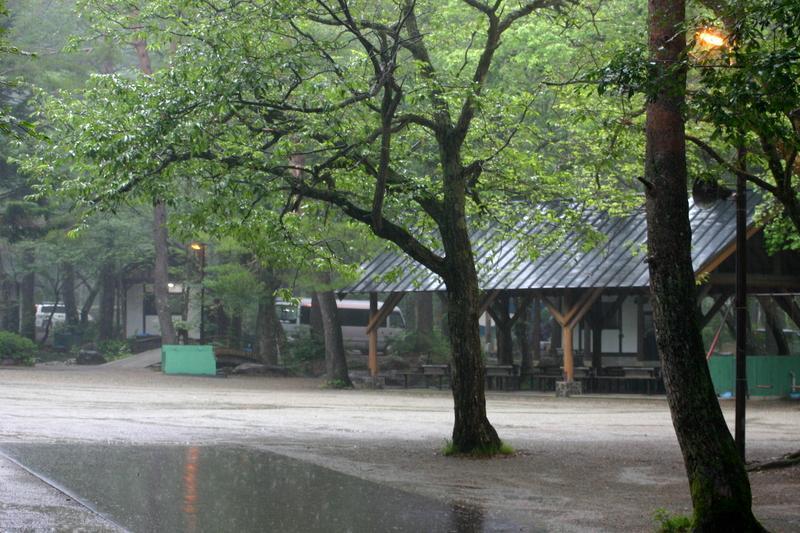岐阜県ひるがの高原キャンプ場 ②