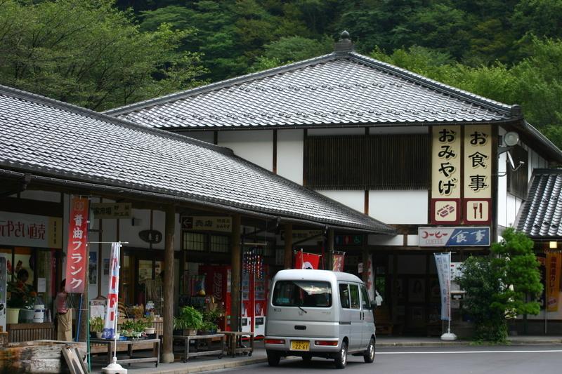 道の駅白鳥 白山長滝公園 ①