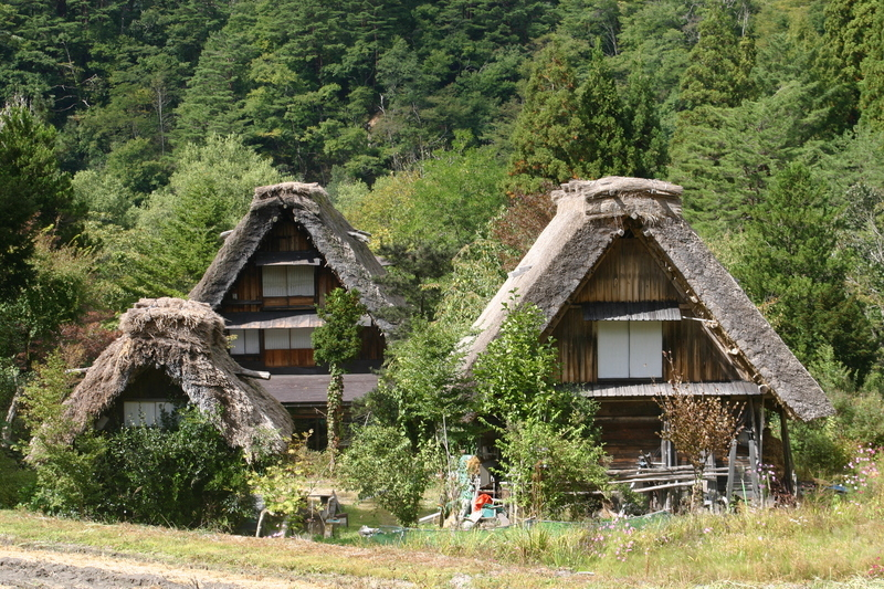 世界遺産 白川郷合掌集落~パノラマ秋色散策と美肌の湯 めぐり旅へ~ ⑥