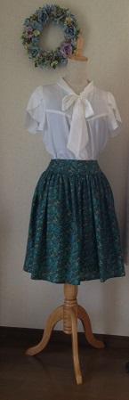 グリーンスカート4