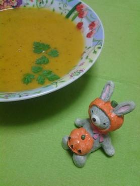 かぼちゃうさぎとスープ