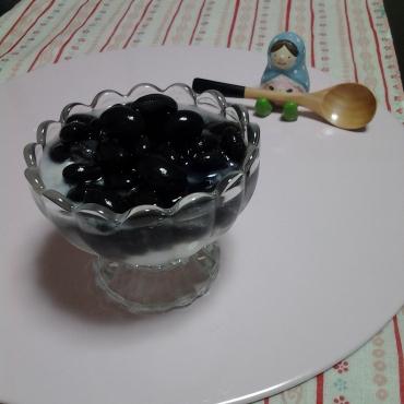 黒豆ヨーグルト