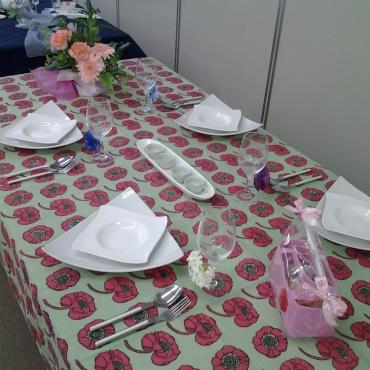 母の日のテーブルコーディネート
