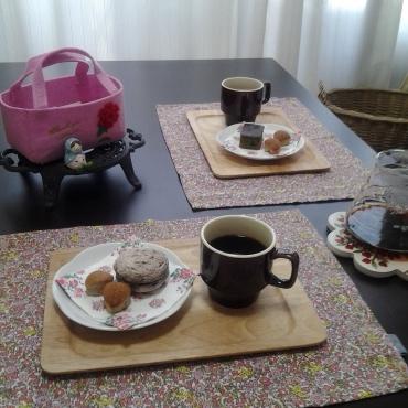 母の日の午後のおうちカフェ