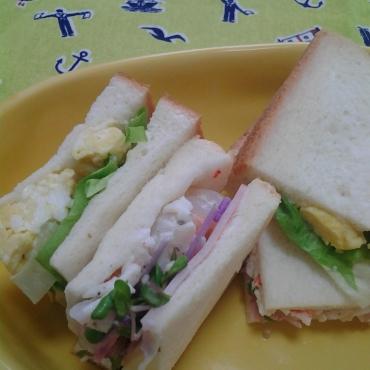 サンドイッチアップ