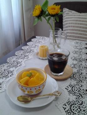 マンゴープリンのカフェタイム