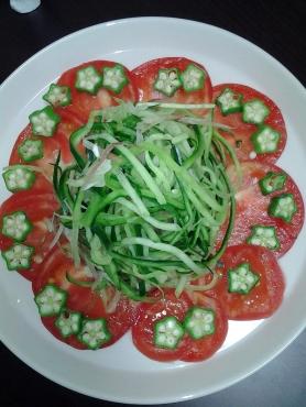 お花サラダ