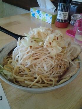 極太ら~麺の麺増し野菜増し