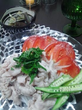 豚しゃぶサラダアップ
