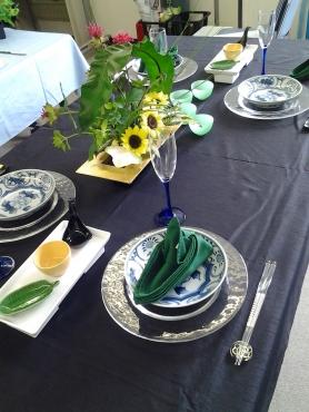 七夕のテーブルコーディネート