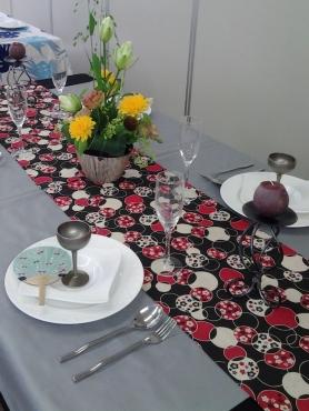 夏のテーブルコーディネート2