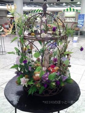 お花の展示
