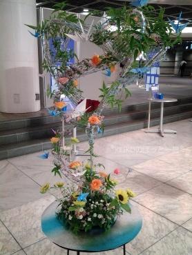 お花の展示2