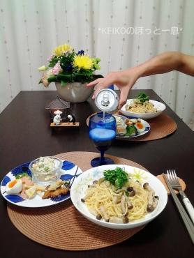 タラコパスタとお総菜3