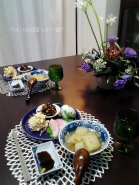 冬瓜と子エビの煮物で晩ごはん3