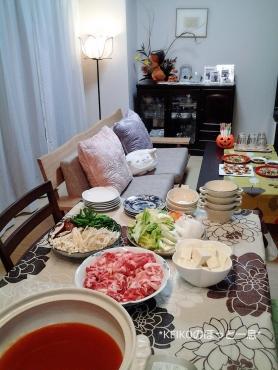 キムチ鍋パーティー