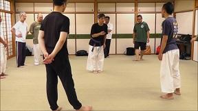 大阪稽古 2014年7月 重心移動について