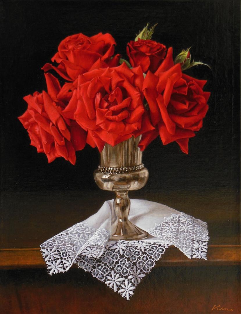 F6号「真紅の薔薇」