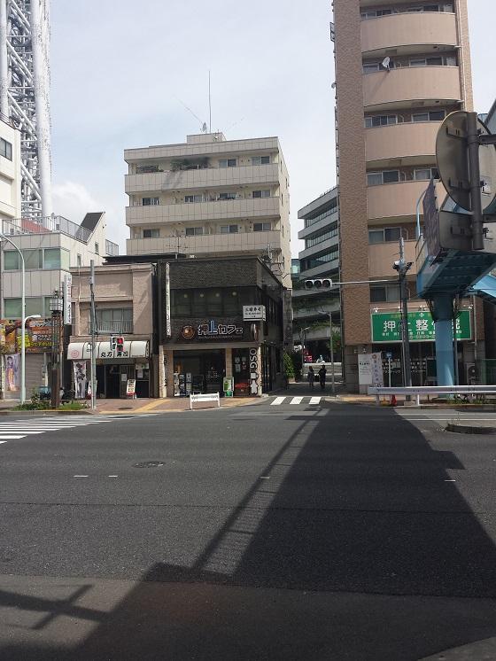 東京スカイツリーへは、ここ ...