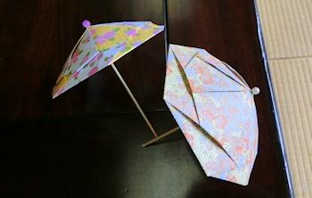 折り紙細工(傘)