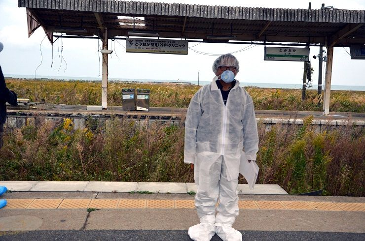 乗降客が絶えた富岡駅