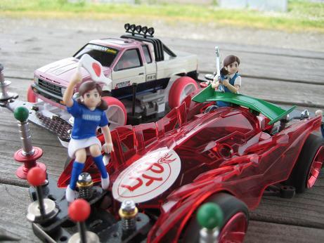 四駆とフチ子 (3)