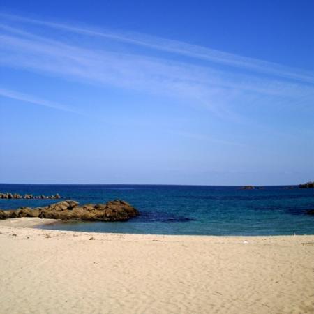 明日7月1日から海開き!竹野浜(たけのはま)海水浴場