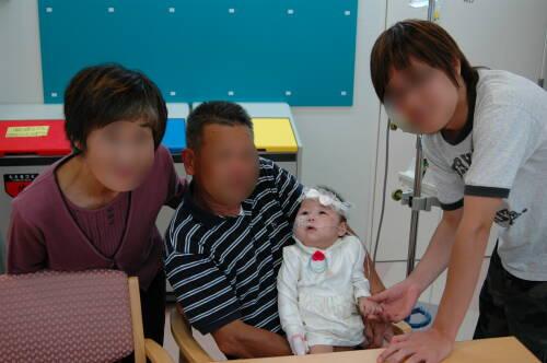 20061014病院での誕生日1