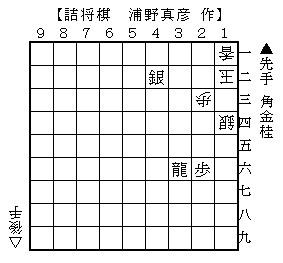 2014年4月5日(土)浦野詰将棋