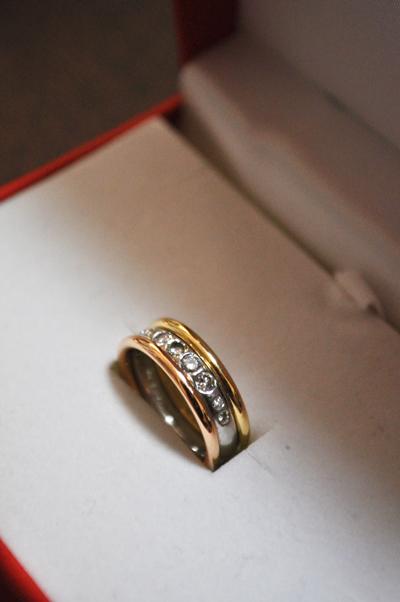指輪 重ね付け