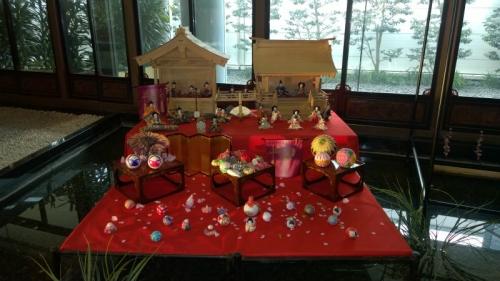 目黒雅叙園:ひな祭り2014年