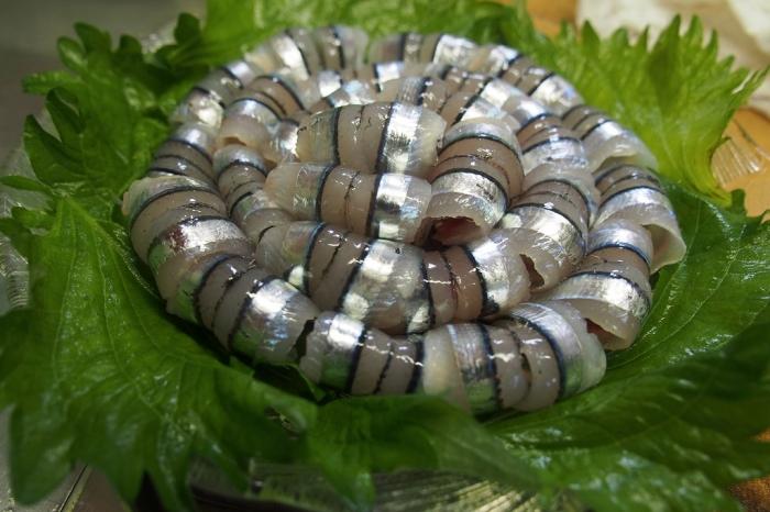 キビナゴ刺身