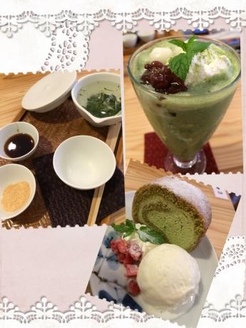 土佐茶カフェ・スイーツ!